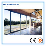 Roomeye Two Rails 2.0mm Epaisseur Porte coulissante en aluminium