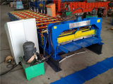 Roulis populaire de panneau de toit de tôle d'acier formant la tuile faisant la machine
