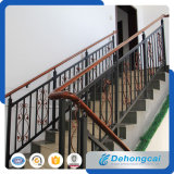 Inferriate residenziali decorative del ferro saldato di sicurezza (dhrailings-29)