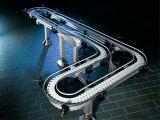 De Transportband van de Riem van het roestvrij staal die van Rubber wordt gemaakt