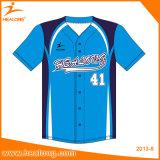 Camice di usura del pullover di baseball della squadra della gioventù di sublimazione