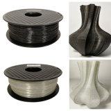 Materiali brillanti di stampa del filamento 1.75mm della stampante di PLA 3D del filamento