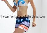여자를 위한 널 간결 또는 숙녀, 지구 또는 단단한 빨리 성 건조한 바닷가 착용