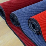 Outdoor Outdoor PVC Rubber Backed Ribbed Textile Soft Carpet Tiles