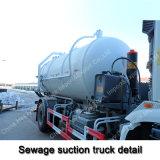 camion di serbatoio settico di vuoto di 10/12cbm HOWO 4X2 da vendere