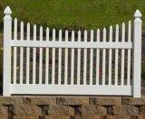 Un piquet de grève de clôtures de jardin