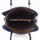 As mulheres Senhoras Genuine Leather Tote Bag mala bolsa Top-Handle Saco de ombro