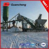 Planta de procesamiento por lotes por lotes del cemento móvil Yhzs75 con el silo de cemento 100t
