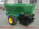 Pelouse avec de l'épandeur d'engrais agricoles Structure compacte