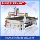 Maquinaria azul 1325 de los muebles del ranurador del CNC del elefante para la madera, acrílico, MDF, plástico