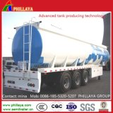 半3axle 40cbmの燃料のガソリン粗野なパーム油タンクトレーラー