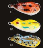 Kleiner weicher Karosserien-Frosch-Köder-weicher Köder-Frosch