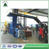 Machine hydraulique automatique de presse à emballer de papier de rebut