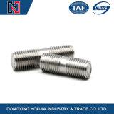 Aço inoxidável A2 A4 parafuso duplo com certificado ISO