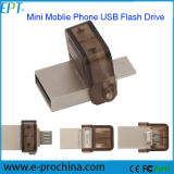 Personalizar Logo Mini OTG USB Pen Drive para Smart Phone