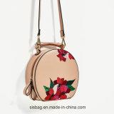 De nieuwe Handtas van de Vrouwen van de Vrije tijd van de Vorm van het Borduurwerk van de Manier Ovale