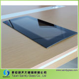 el panel curvado gris del vidrio Tempered de 4m m Europa para la lavadora