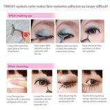 Eyelash брови глаз косметические средства макияжа пинцеты косметический прибор многофункциональный ложных ресницами вспомогательного оборудования из нержавеющей стали для бровей пинцетом фиксатор