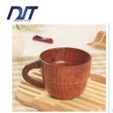 Tazza di legno sicura del tè dell'alimento su ordinazione all'ingrosso di marchio