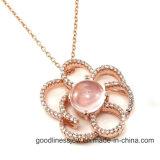 De speciale Tegenhanger van de Bloem van de Charmes van het Ontwerp en van Juwelen voor de Gift P0030py van Vrouwen