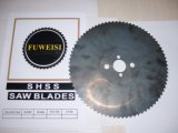 Hoja de sierra circular HSS 300X2.5X32 para cortar metal.