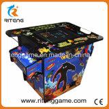 Macchina dell'interno del gioco della galleria del cocktail dei bambini con il gioco di Pacman