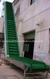 Wannen-Höhenruder-Bandförderer-Riemen mit Seitenwand