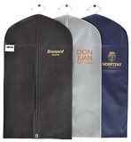 Saco para roupa não tecidos de PP/Tampa de roupa/Prensa Saco/prensa para cobrir com o cartão e o olhal de bolso