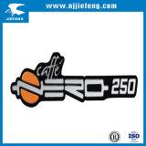 Резиновый пластичная эмблема знака логоса