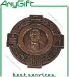 Médaille en métal avec le logo et la couleur adaptés aux besoins du client