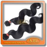 適正価格のブラジルの漆黒の毛