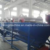 300 kg/h de película de PP y el lavado de la línea de reciclado