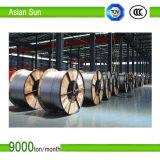 Усиленная сталь проводника проводника ACSR алюминиевая