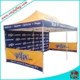 Подгонянный PU Gazebo/выставки Tent/600d сени шатра логоса конструкции
