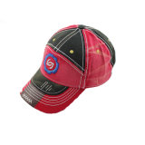 2015 gorras de béisbol lavadas venta caliente del algodón del bordado (GkS05-001)