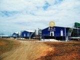 Casa de grelha da construção de aço para a galinha da carne