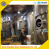 Micro- Hotel/Apparatuur van het Bierbrouwen van het Koper van het Ontwerp van de Staaf/van de Bar de Rode