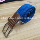 Doppia cinghia spessa blu dell'elastico del Knit della tessitura