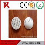 Vite prigioniera di ceramica riflettente della strada di Eys del gatto bianco di sicurezza stradale di Roadsafe