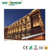Ce/RoHS aprobado alto brillo LED bañador de pared exterior de 24W luz