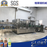 usine carbonatée de boisson de la bouteille 3000bph avec la ligne d'emballage