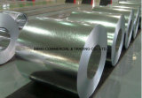 Bobina de acero galvanizada sumergida caliente galvanizada exacta de la bobina de la lentejuela cero de Dx53D Z100 de la aplicación de acero del material para techos