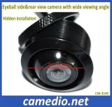 Waterproof di alta risoluzione Eyeball Mini Universal Car Rear&Side View Camera con Super Wide Viewing Angle