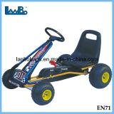 Pedal de plástico de alta calidad de las carreras de caballo Go Kart coche