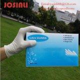 Latex pulverisierte WegwerfExamin Handschuhe