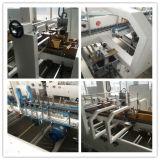 Haute vitesse Dossier Bottom-Lock Carton Gluer Machine automatique