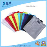 By-101 # Modal Round Neck Sublimation T-Shirt