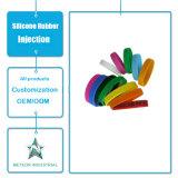 Braccialetto promozionale personalizzato del Wristband del silicone dei regali dei prodotti dello stampaggio ad iniezione della gomma di silicone