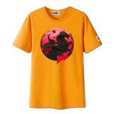 Les hommes faits sur commande de mode de qualité court- le T-shirt de chemise