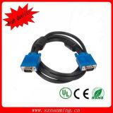 Контролируйте мужчины индикации 15pin к мыжскому кабелю VGA для компьютера